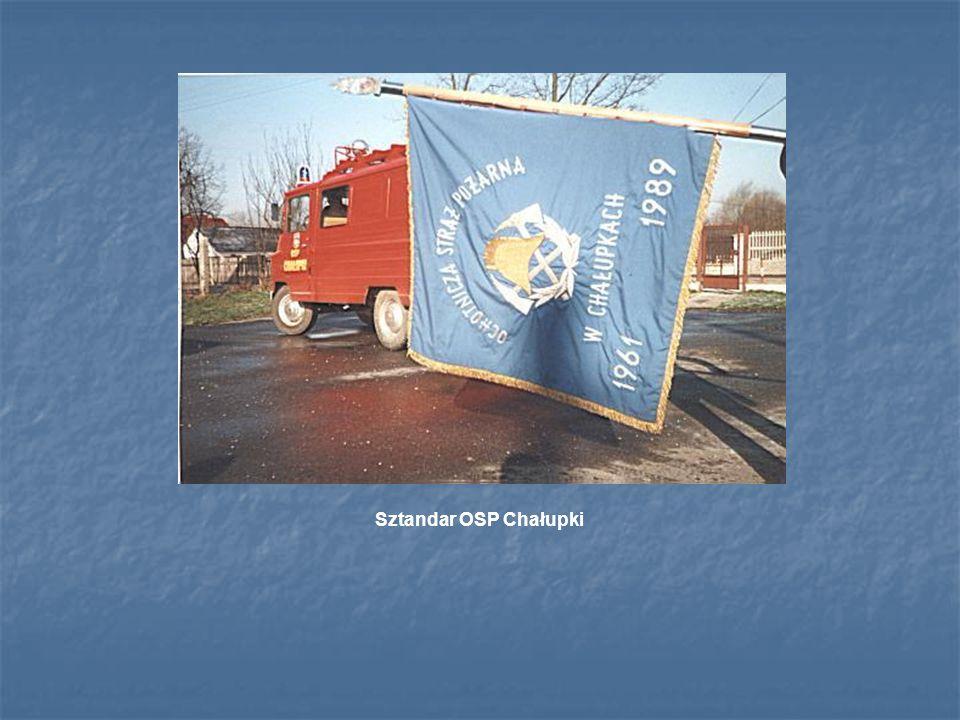 Sztandar OSP Chałupki