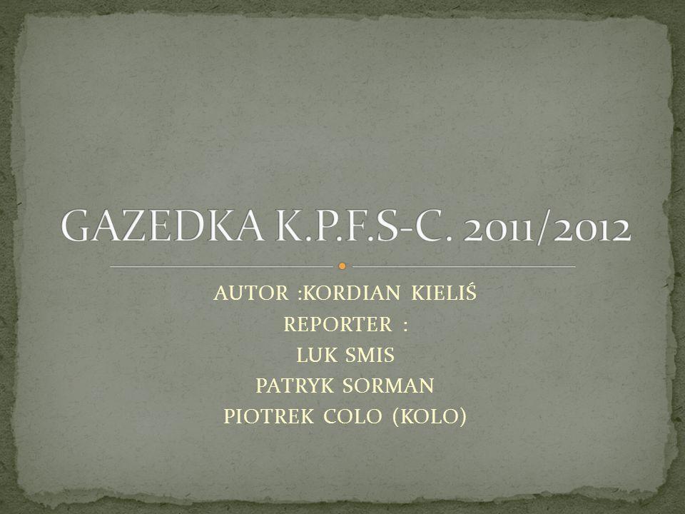 GAZETKA WAZNA DO : 12/10/2011