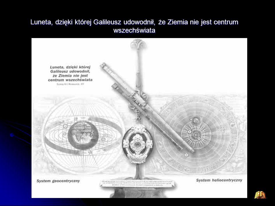 Luneta, dzięki której Galileusz udowodnił, że Ziemia nie jest centrum wszechświata
