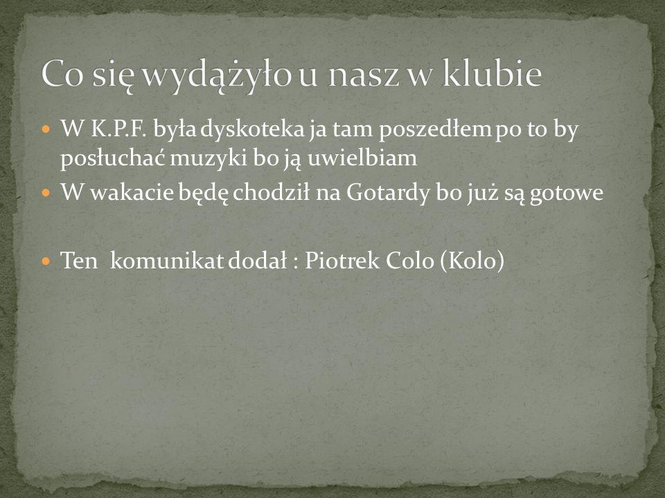 12/05/2012 JUŻ ZA MIESIONC ZAPRASZAMY