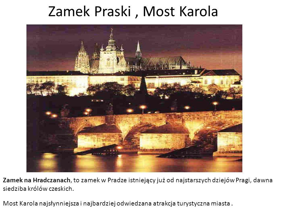 Czechy Republika Czeska Powierzchnia – 78.864 km2 Ludność – 10,4 mln Stolica – Praga Jednostka monetarna – korona czeska