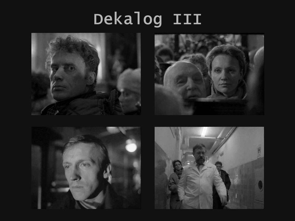 Krzysztof Kieślowski Dekalog IV Zagrać uczucia jak w scence dramatycznej na zajęciach aktorskich.