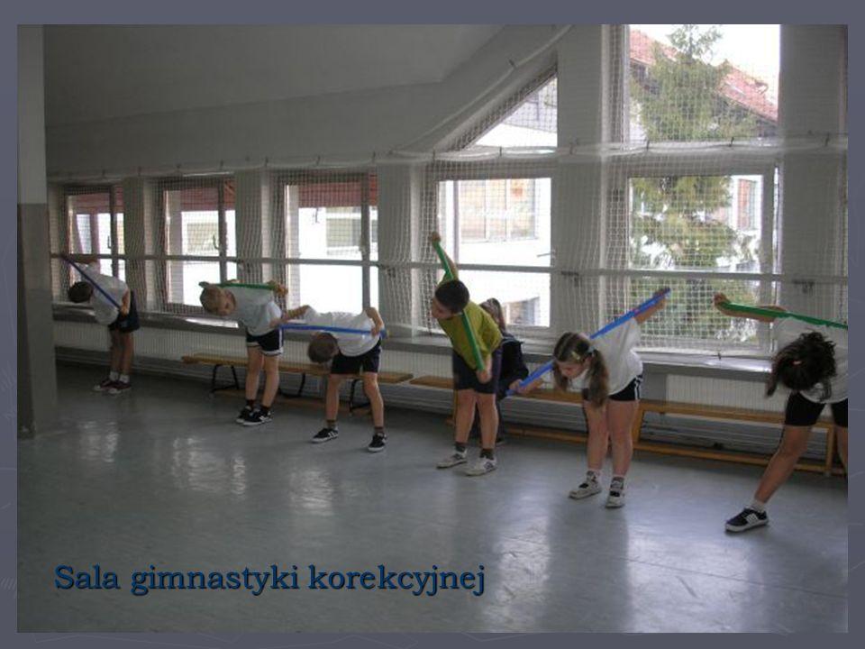 Sala gimnastyki korekcyjnej