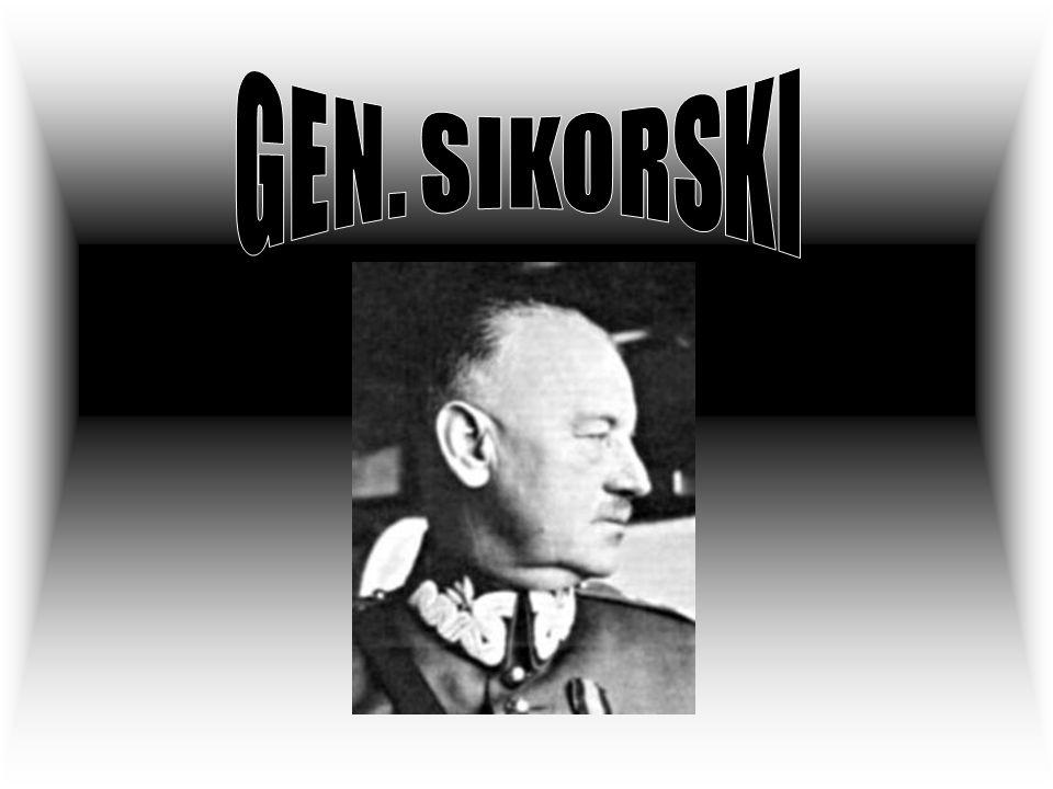 Generał Sikorski został pochowany na cmentarzu lotników polskich w Newark, w Wielkiej Brytanii.