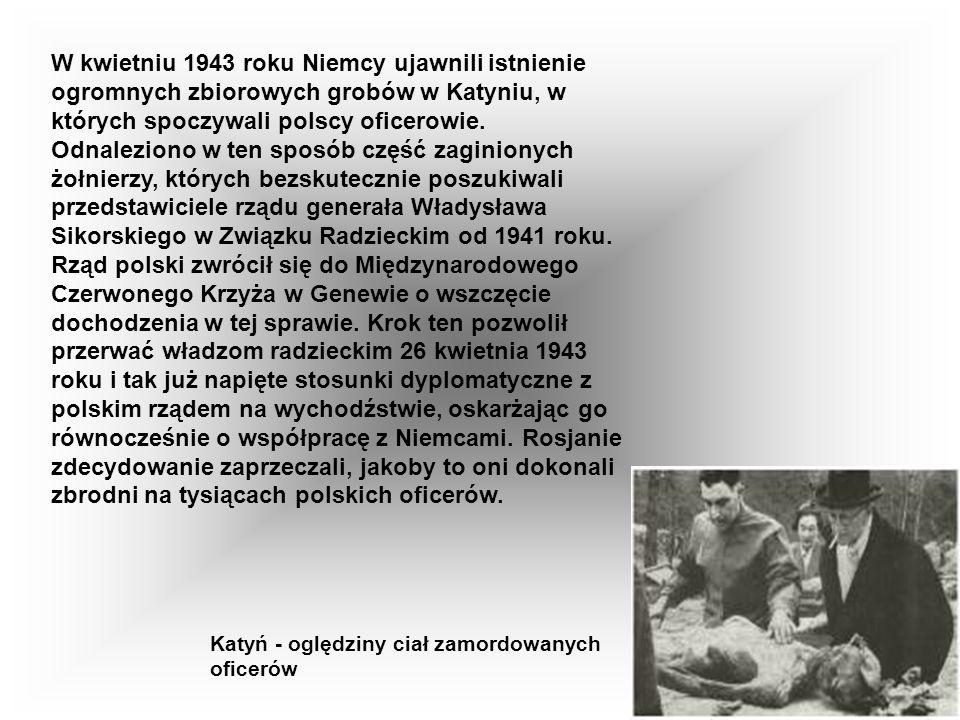 30 września 1939 roku powierzono mu urząd premiera polskiego rządu na uchodźstwie a następnie stanowisko naczelnego wodza Polskich Sił Zbrojnych i min