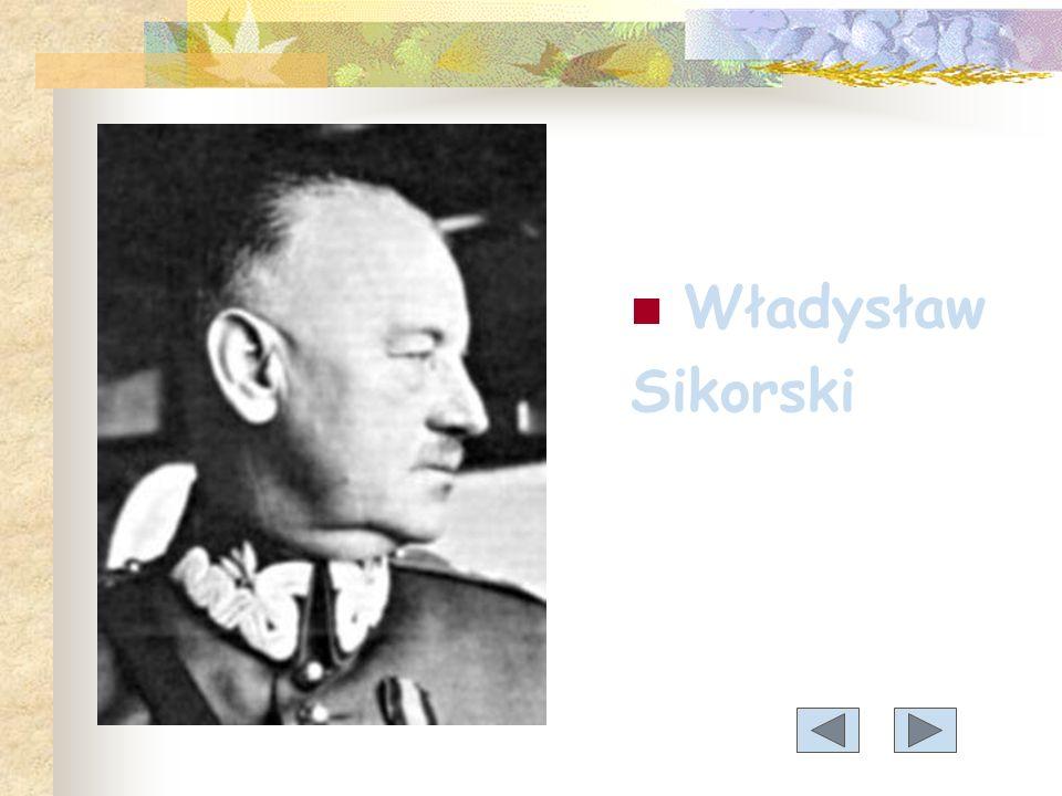 Sikorski Władysław Eugeniusz (1881-1943)