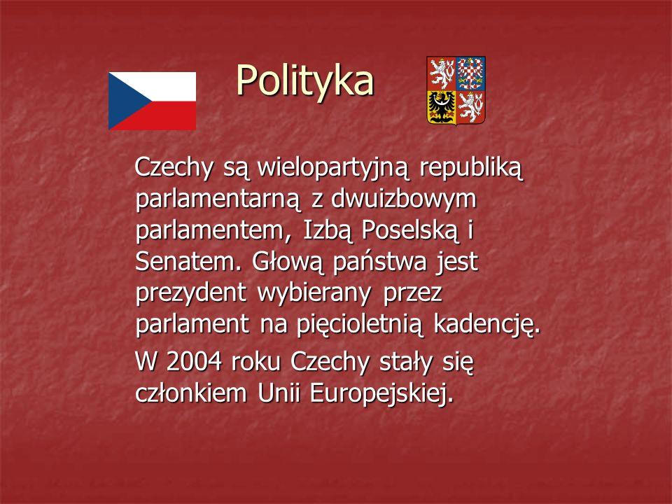 Polityka Czechy są wielopartyjną republiką parlamentarną z dwuizbowym parlamentem, Izbą Poselską i Senatem.