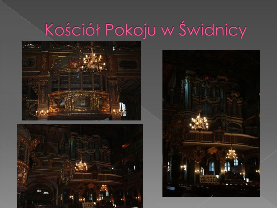 Kościół Pokoju pw. Trójcy Świętej w Świdnicy jest zabytkowym budynkiem sakralnym wybudowanym na mocy porozumień traktatu westfalskiego zawartego w 164