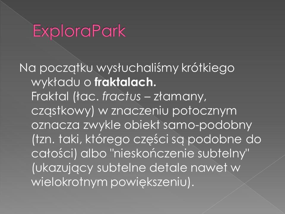 5.30 zbiórka w Ząbkowicach Śl. 6.30 podjazd pod wycieczkowiczów z Nowej Rudy około 8.00 przyjechaliśmy do ExploraPark w Wałbrzychu, gdzie odbyły się w