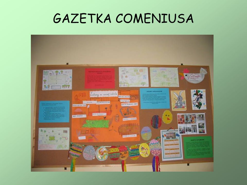 GAZETKA COMENIUSA