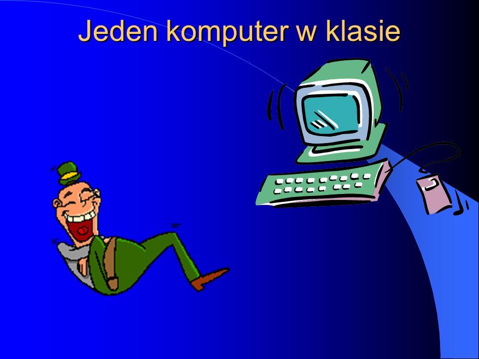 Jeden komputer i co dalej? Lekcje z PowerPointem Anna Gadomska Szkoła Podstawowa Nr 79 Łódź