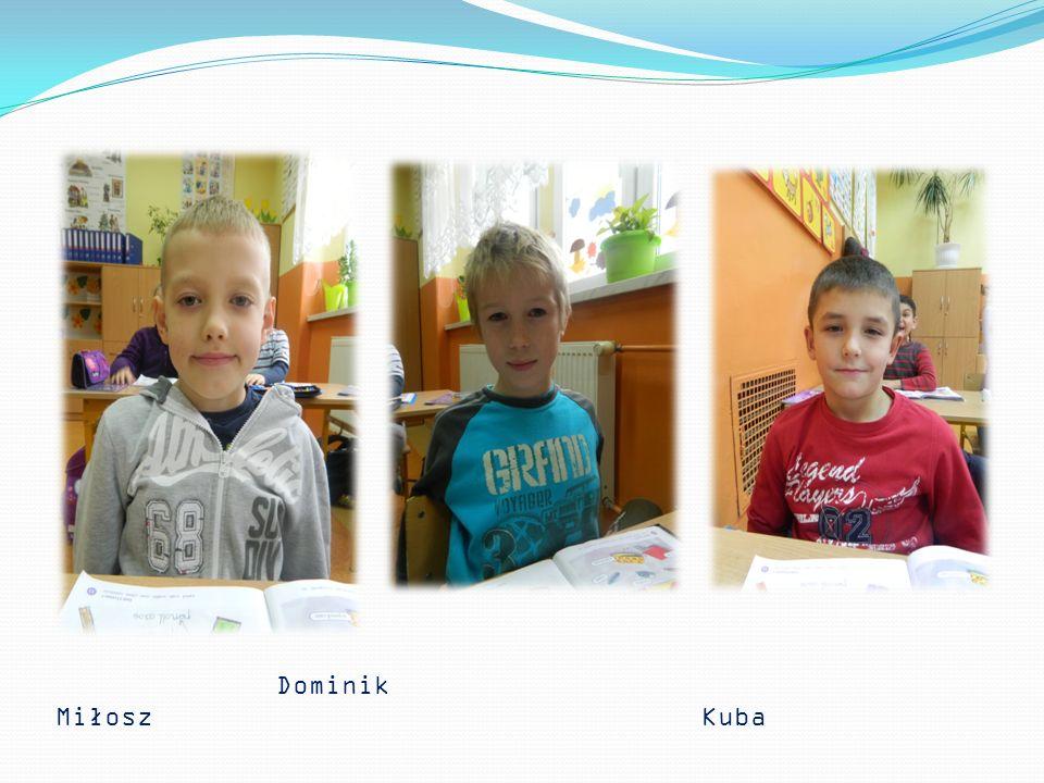 Uczniowie biorący udział w zajęciach : Wiktorka Gosia Martynka