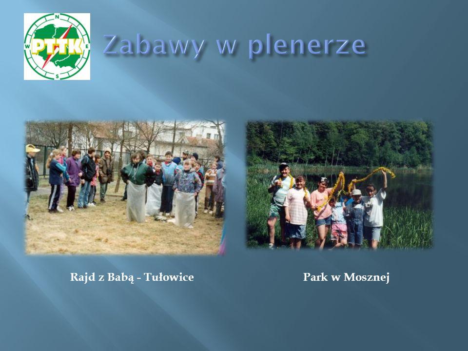 Park w Mosznej Rajd z Babą - Tułowice
