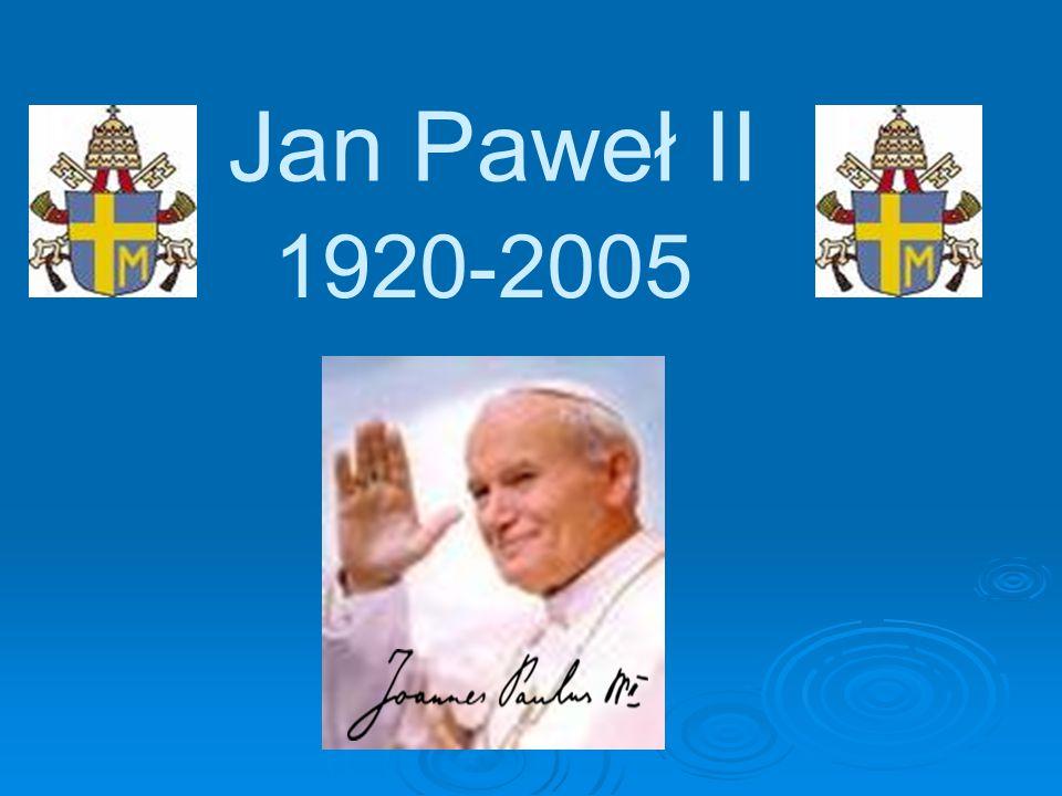 Papież-Polak Jan Paweł II był pierwszym papieżem z Polski, jak również pierwszym po 455 latach biskupem Rzymu, niebędącym Włochem.