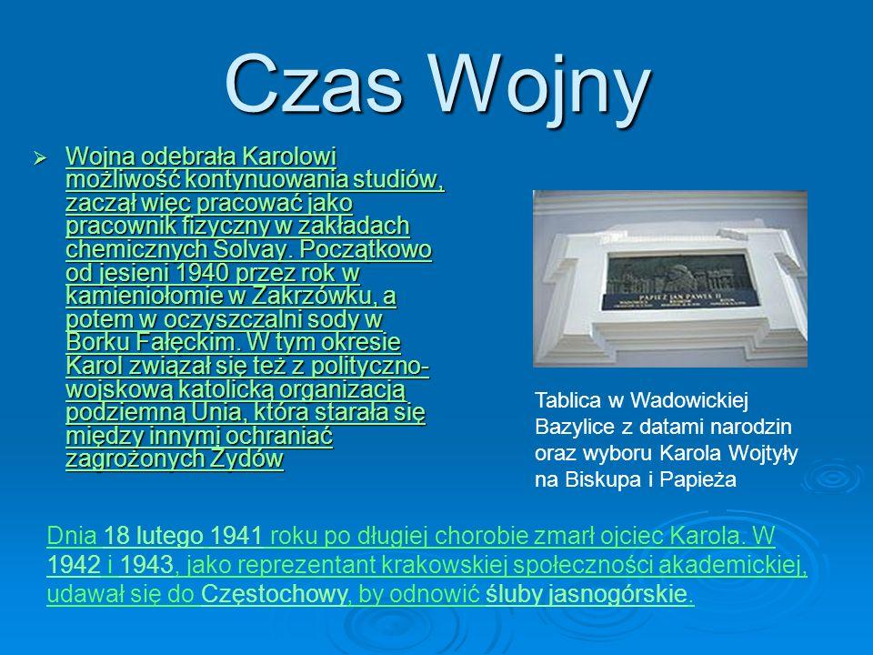 Kapłaństwo w Krakowie Karol Wojtyła został subdiakonem, a tydzień później diakonem.