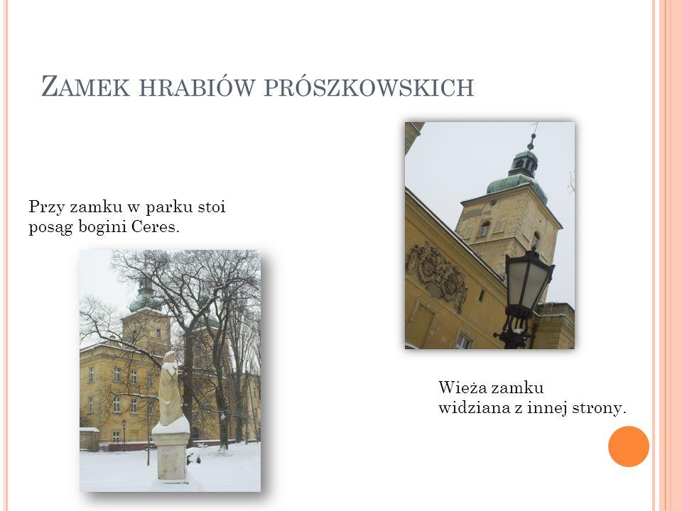 P RÓSZKÓW – ARCHITEKTURA ZAMKU I RYNKU Wykonały: Michalina Smoleń Paulina Wójcik z klasy 6 a
