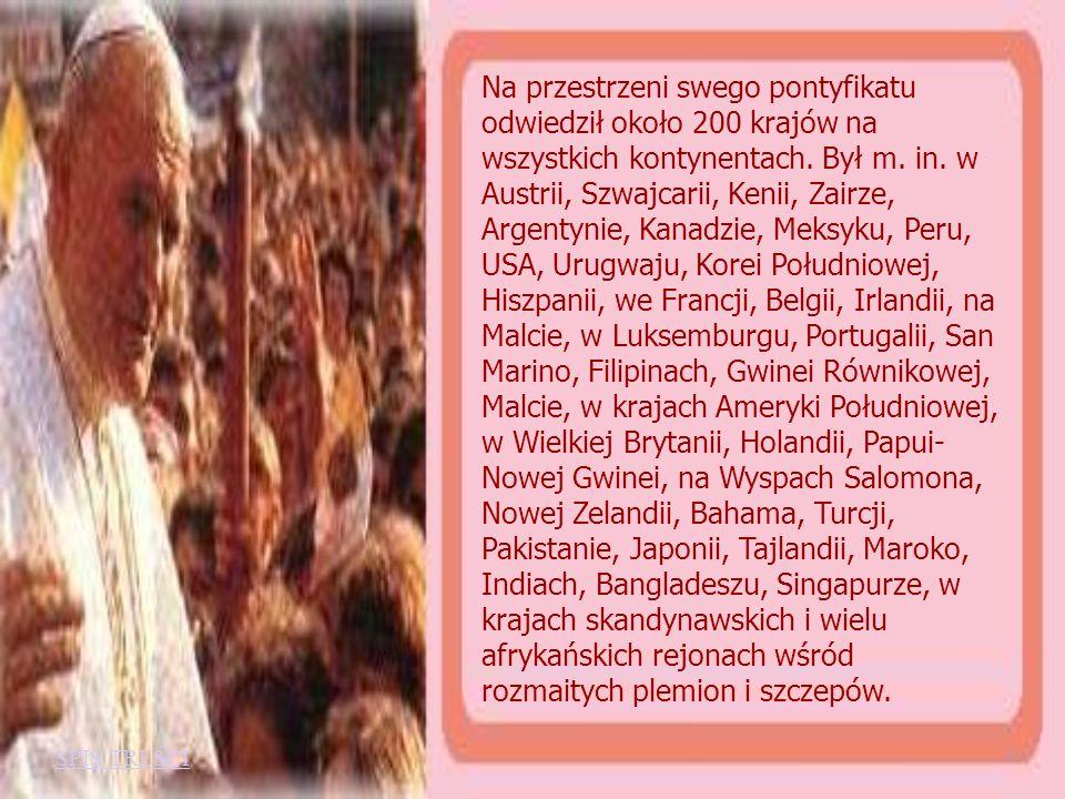 Wszędzie zawierzał wiernych Matce Bożej, nawiedzał sanktuaria narodowe, dokonywał beatyfikacji i kanonizacji, udzielał sakramentów świętych. Spotykał