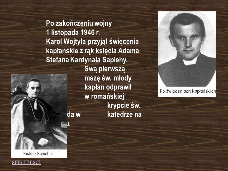 Biografia, czyli nie od razu został papieżem...Biografia, czyli nie od razu został papieżem...