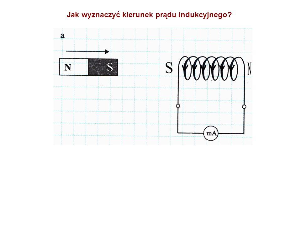 Jak wyznaczyć kierunek prądu indukcyjnego?