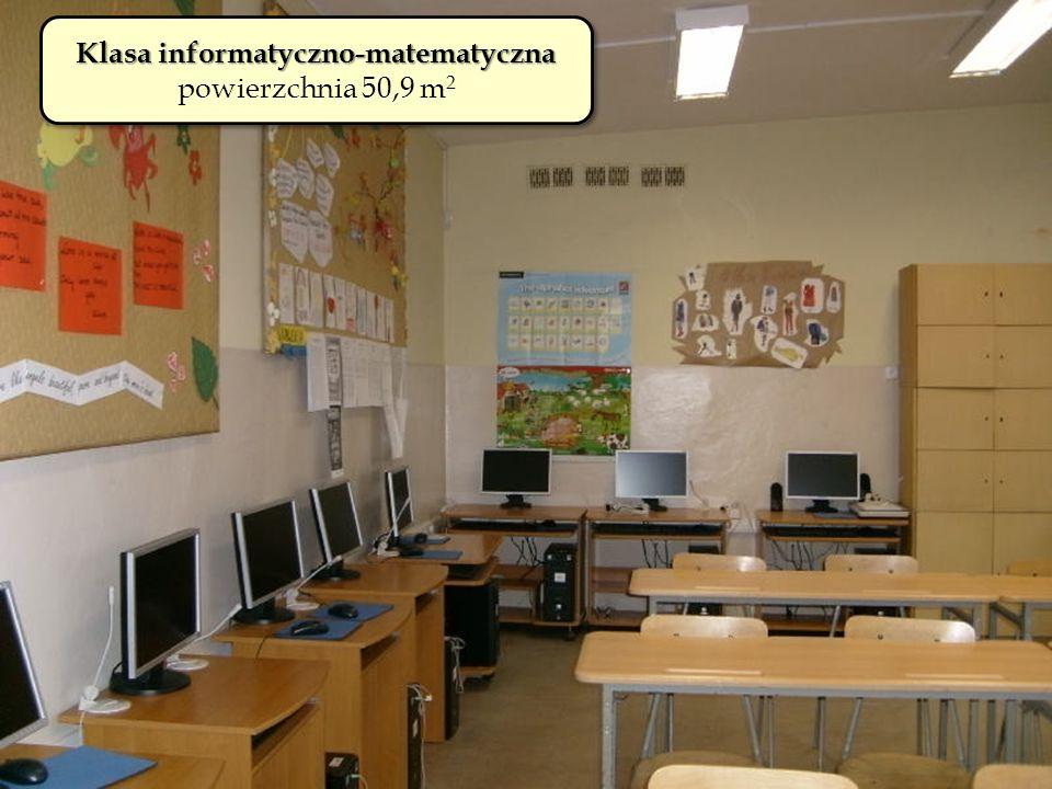 Klasa informatyczno-matematyczna powierzchnia 50,9 m 2 Klasa informatyczno-matematyczna powierzchnia 50,9 m 2