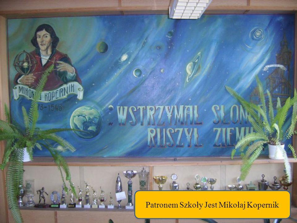 Patronem Szkoły Jest Mikołaj Kopernik