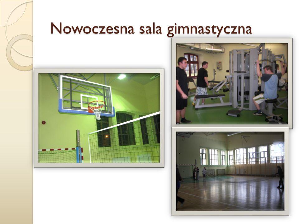 Nowoczesna sala gimnastyczna