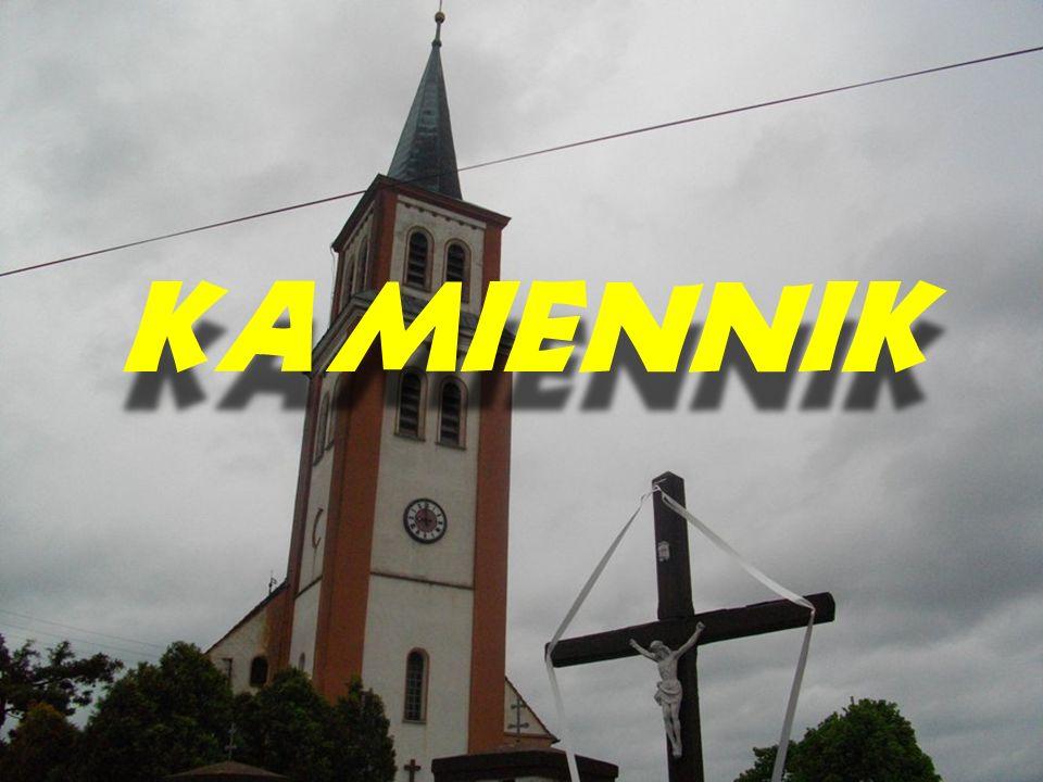 Parafia pod wezwaniem św.Andrzeja w Kamienniku. Kościół wzmiankowany w 1302r.