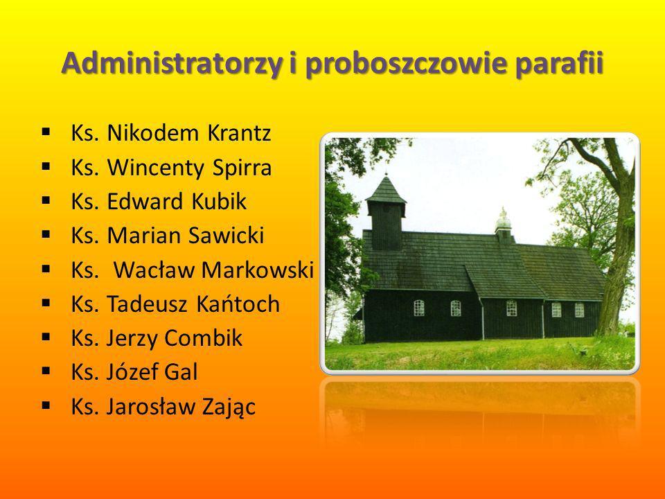 Administratorzy i proboszczowie parafii Ks.Nikodem Krantz Ks.