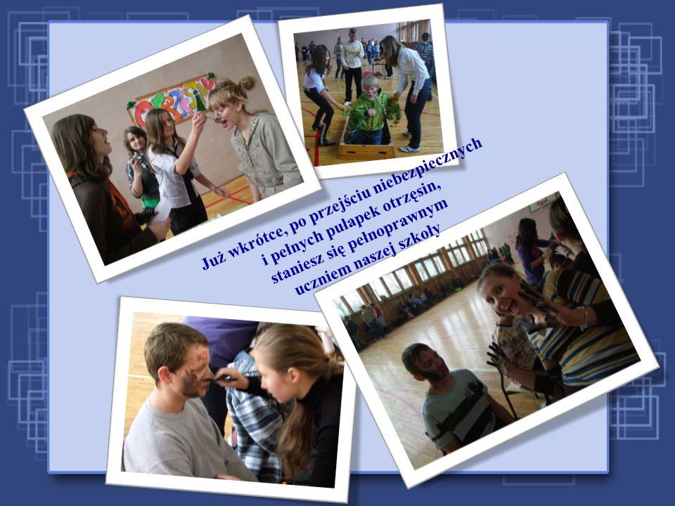 W naszej szkole poszerzysz horyzonty swojej wiedzy w sposób nad wyraz ciekawy i przyjemny !!!