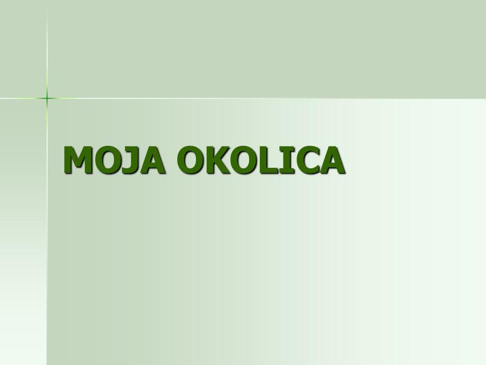 MOJA OKOLICA