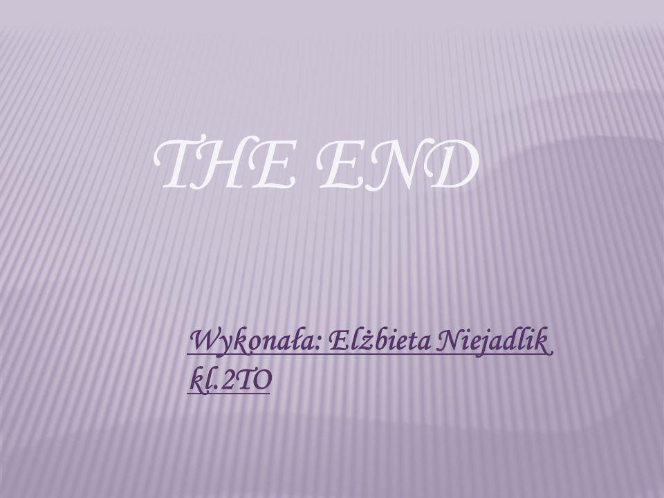 Wykonała: Elżbieta Niejadlik kl.2TO THE END