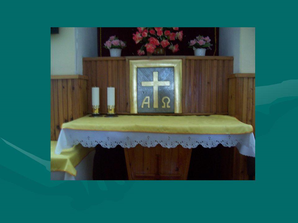 Kaplica w szpitalu OCR w Korfantowie Odbywają się tu msze niedzielne i czwartkowe Odbywają się tu msze niedzielne i czwartkowe