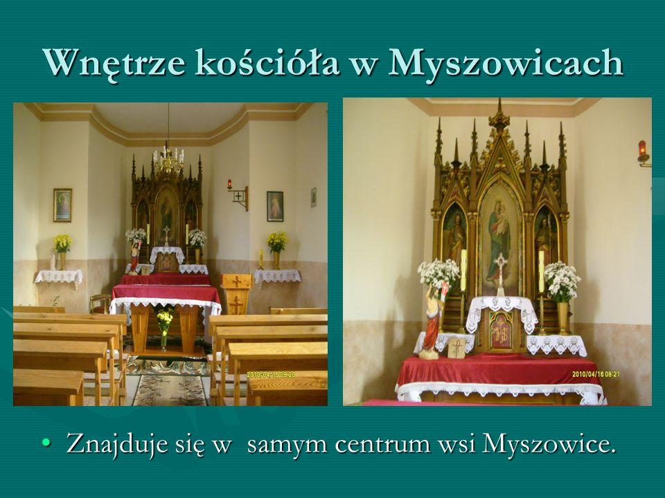 Kościół w Myszowicach Kościół znajdujący się w centrum MyszowicKościół znajdujący się w centrum Myszowic