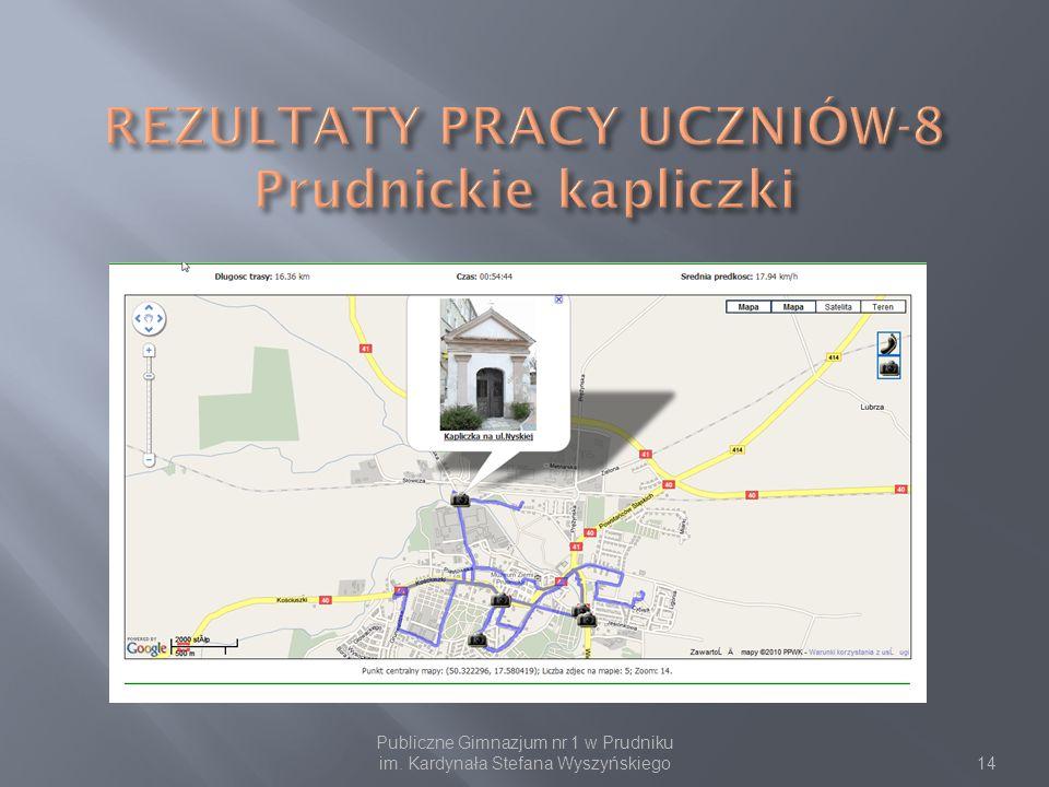 Publiczne Gimnazjum nr 1 w Prudniku im. Kardynała Stefana Wyszyńskiego14
