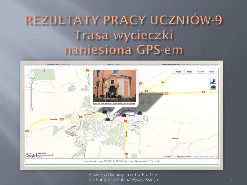 Publiczne Gimnazjum nr 1 w Prudniku im. Kardynała Stefana Wyszyńskiego15