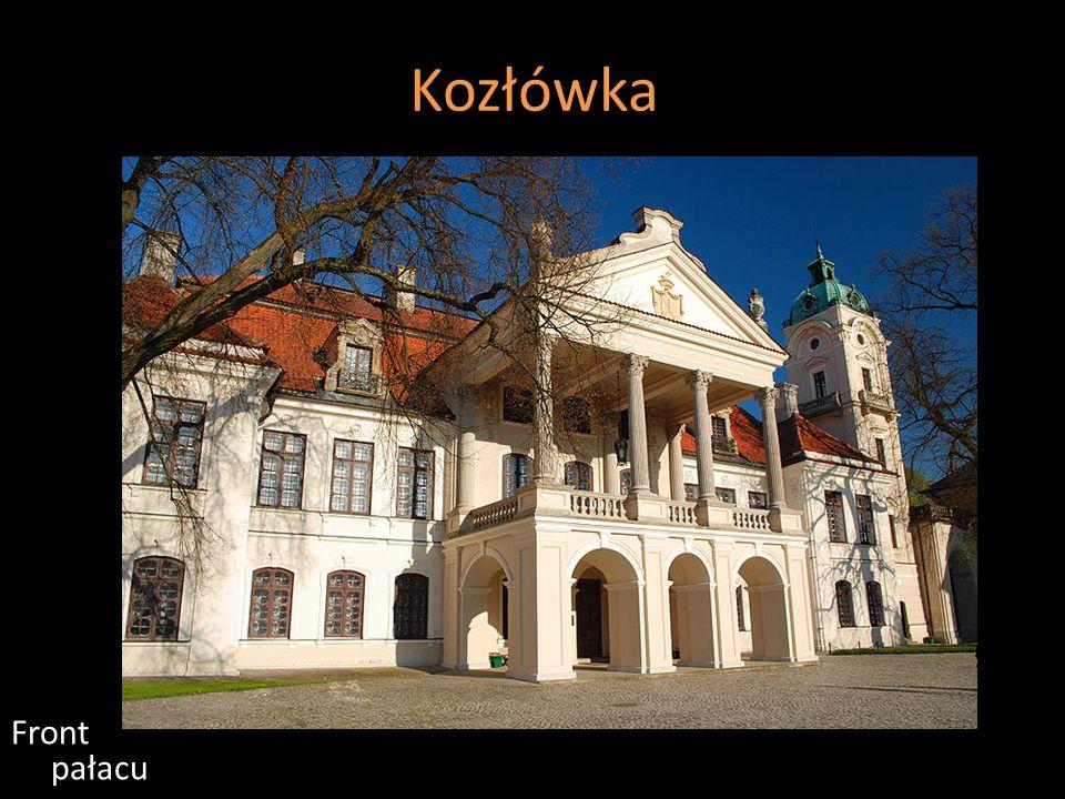 Kozłówka Front pałacu