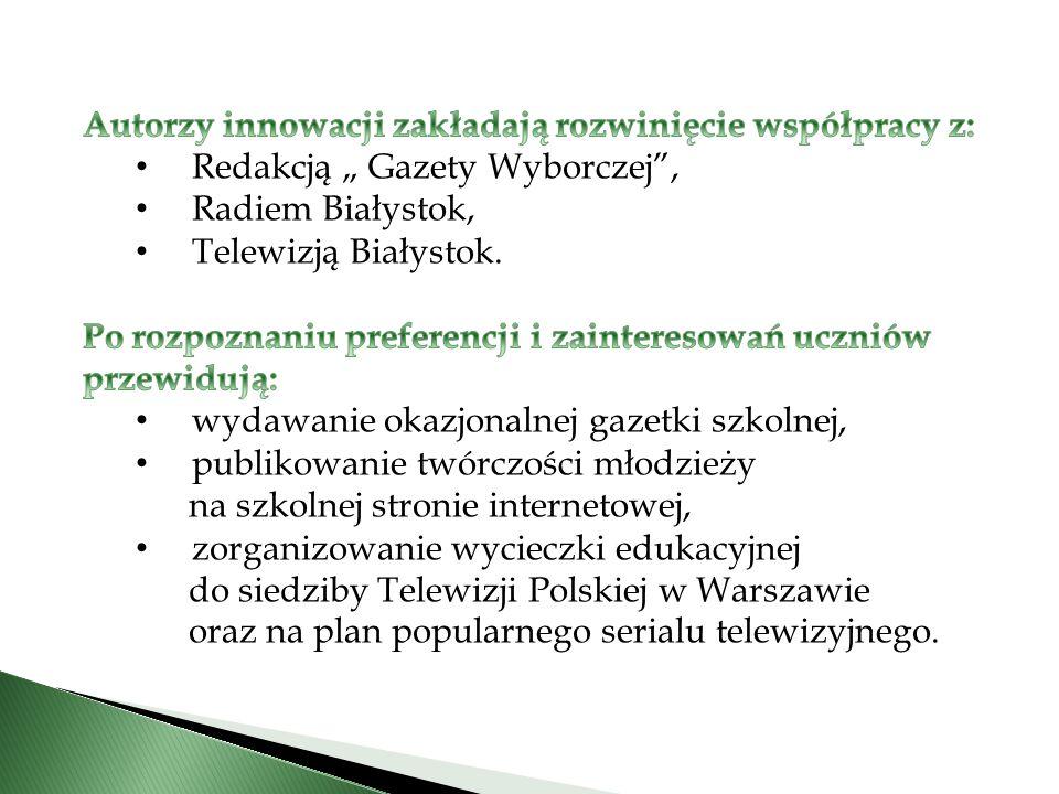 CELE OGÓLNE 1.Wspieranie i rozwój zainteresowań uczniów.