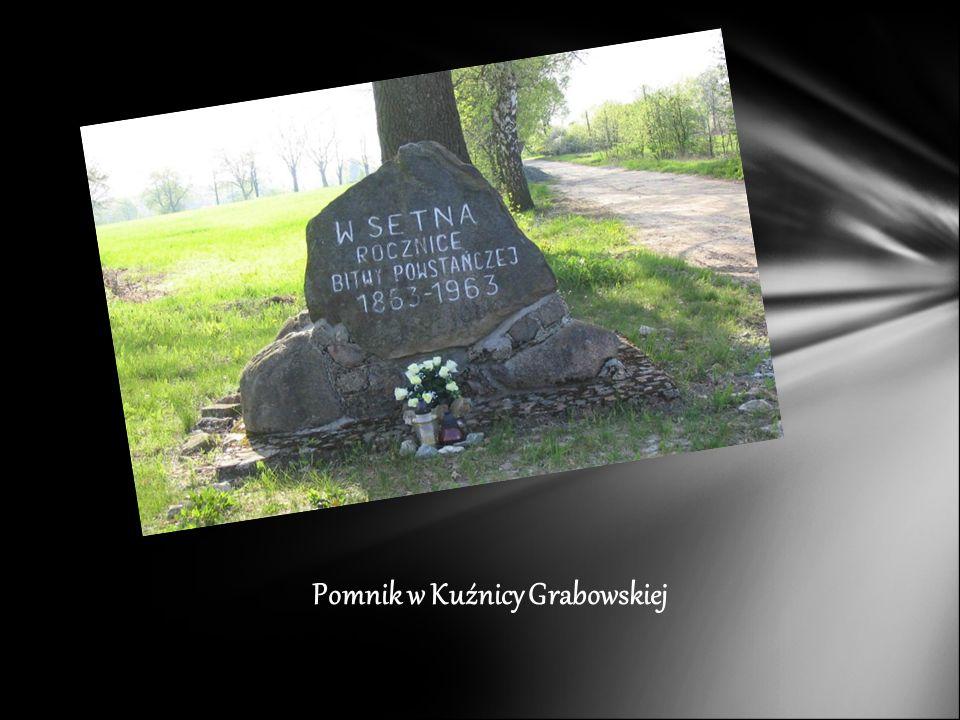 Pomnik w Kuźnicy Grabowskiej