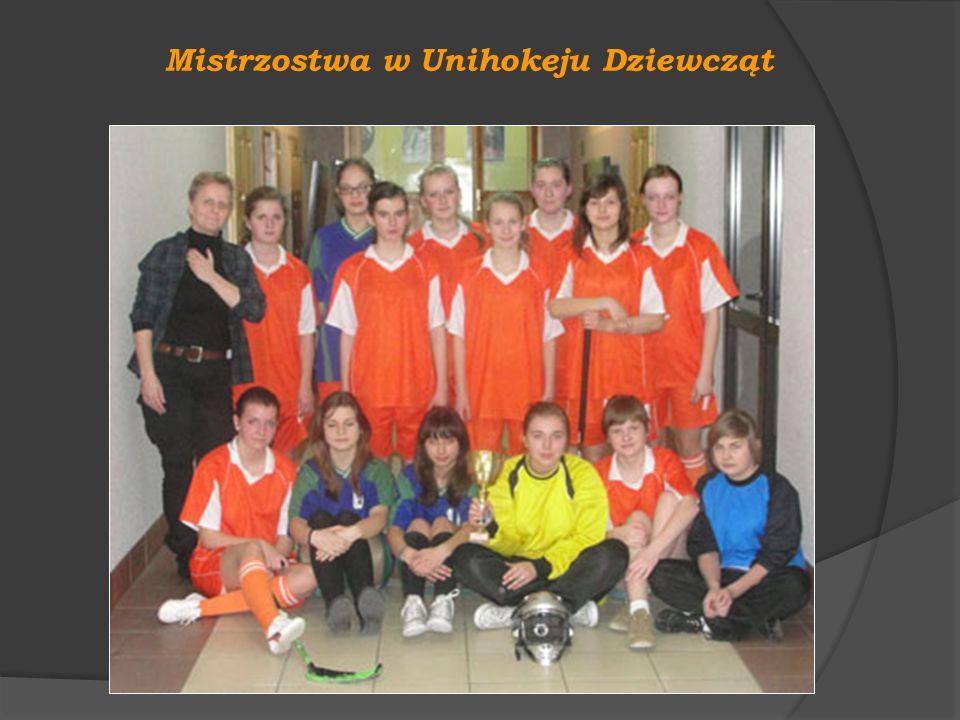 Mistrzostwa w Unihokeju Dziewcząt