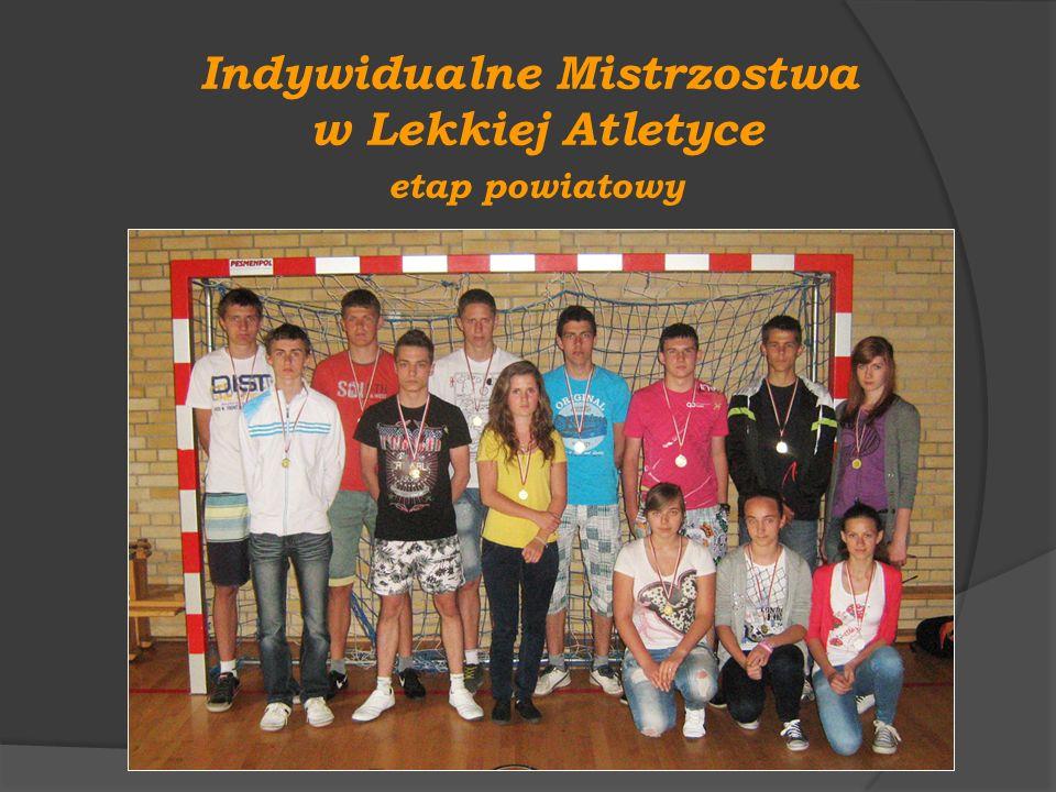 Indywidualne Mistrzostwa w Lekkiej Atletyce etap powiatowy