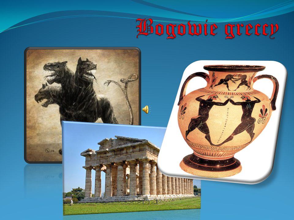 Bogowie Olimpijscy Po wojnie z gigantami synowie Kronosa i Rei podzielił się władzą nad światem.