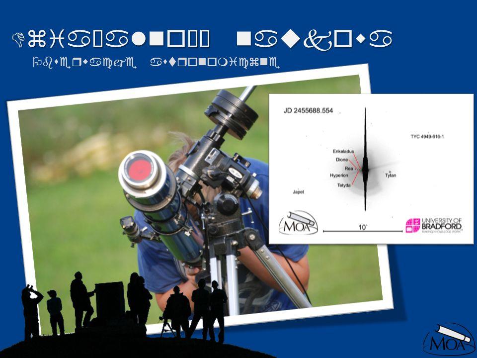 Działalność naukowa Obserwacje astronomiczne