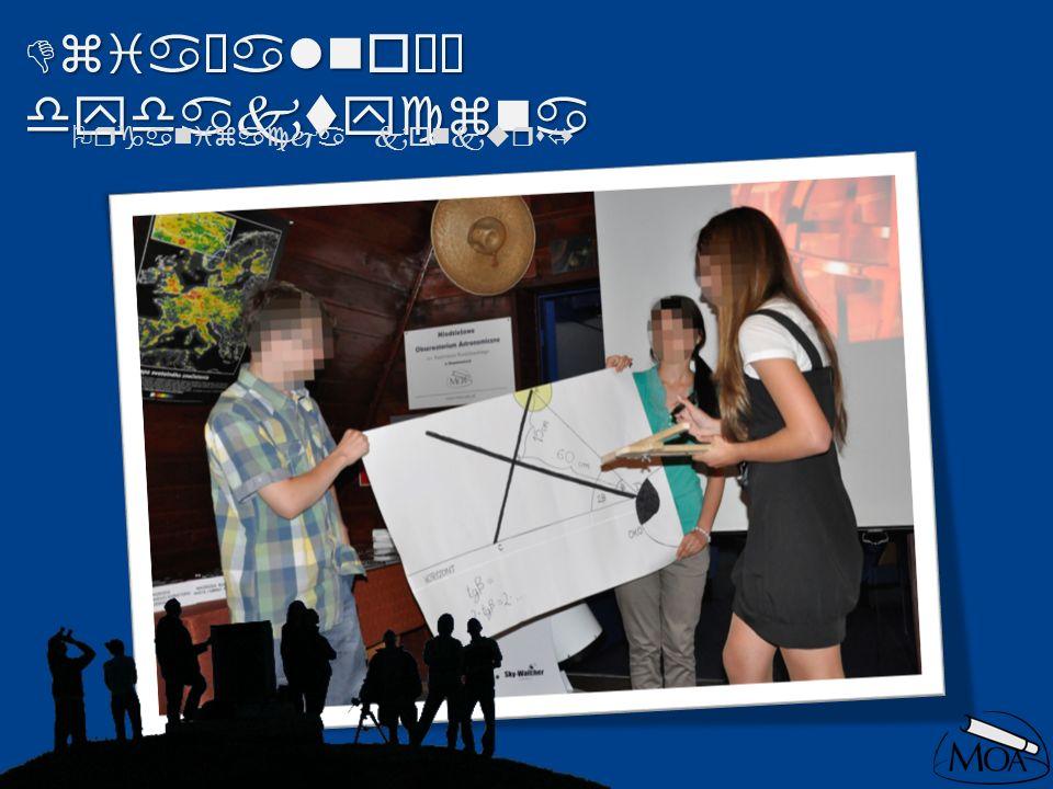 Działalność dydaktyczna Organizacja konkursów