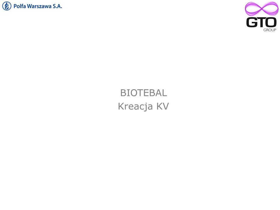 BIOTEBAL Kreacja KV