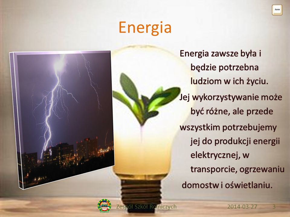 Zespół Szkół Rolniczych2014-03-273 Energia