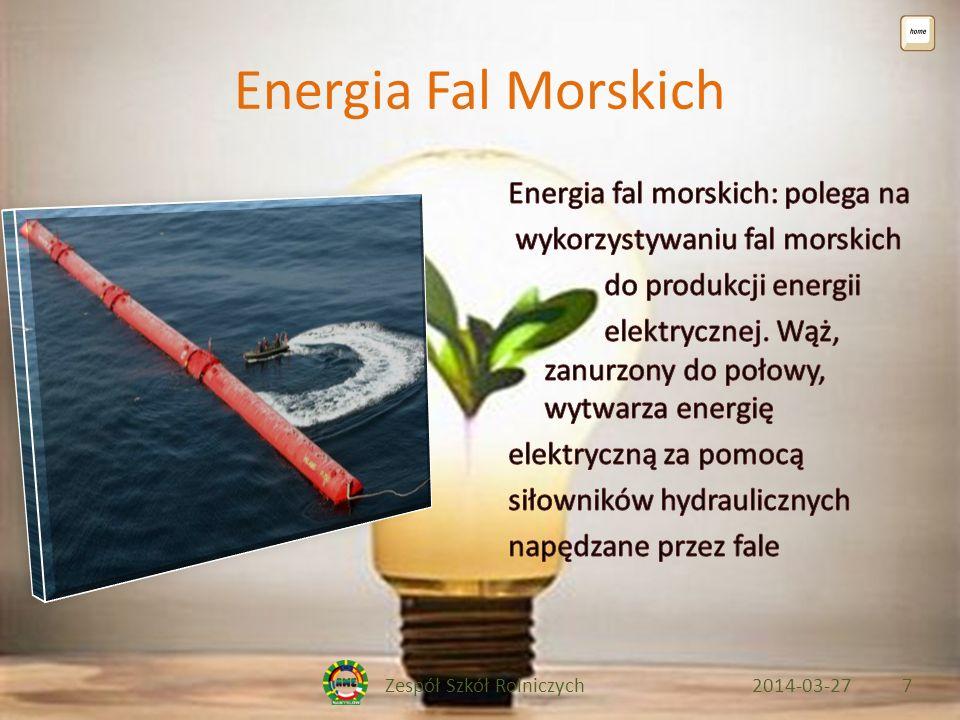 Zespół Szkół Rolniczych2014-03-278 Bibliografia http://www.zrodlaodnawialne.pl/energia-wodna/20-co-to-jest-energia- wodna http://www.zrodlaodnawialne.pl/energia-wodna/20-co-to-jest-energia- wodna http://energiaodnawialna.net/index.php?option=com_content&view=arti cle&id=54&Itemid=54 http://energiaodnawialna.net/index.php?option=com_content&view=arti cle&id=54&Itemid=54 http://inhabitat.com/portugal-wavepower-plant-goes-live/ http://www.wpk.p.lodz.pl/~krolstan/ http://zielonaenergia.eco.pl/index.php?option=com_content&view=articl e&id=168:technologie-wykorzystania-energii- sonecznej&catid=51:slonce&Itemid=214 http://zielonaenergia.eco.pl/index.php?option=com_content&view=articl e&id=168:technologie-wykorzystania-energii- sonecznej&catid=51:slonce&Itemid=214