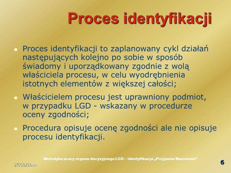 27/03/2014 7 Elementy wniosku Każdy wniosek o przyznanie pomocy posiada w swej strukturze wymogi wskazania informacji pozwalających określić; kim jest wnioskodawca, co zamierza wykonać (jaką operację), jaki cel sformułował do osiągnięcia w wyniku realizacji zaplanowanej operacji, jakie zadania i w jakich etapach oraz przestrzeni czasowej wyznaczył do realizacji, gdzie będzie zlokalizowana operacja, jaki będzie koszt ogólny operacji, w tym koszty kwalifikowalne, o pomoc w jakiej wysokości wnioskuje, z jakich zasobów planuje finansować operację, jakie efekty ekonomiczne przyniesie realizacja operacji (ewentualnie jakie będzie jej oddziaływanie na otoczenie wewnętrzne i zewnętrzne); Każdy wniosek o przyznanie pomocy wymaga dokumentów uzupełniających nazywanych załącznikami.