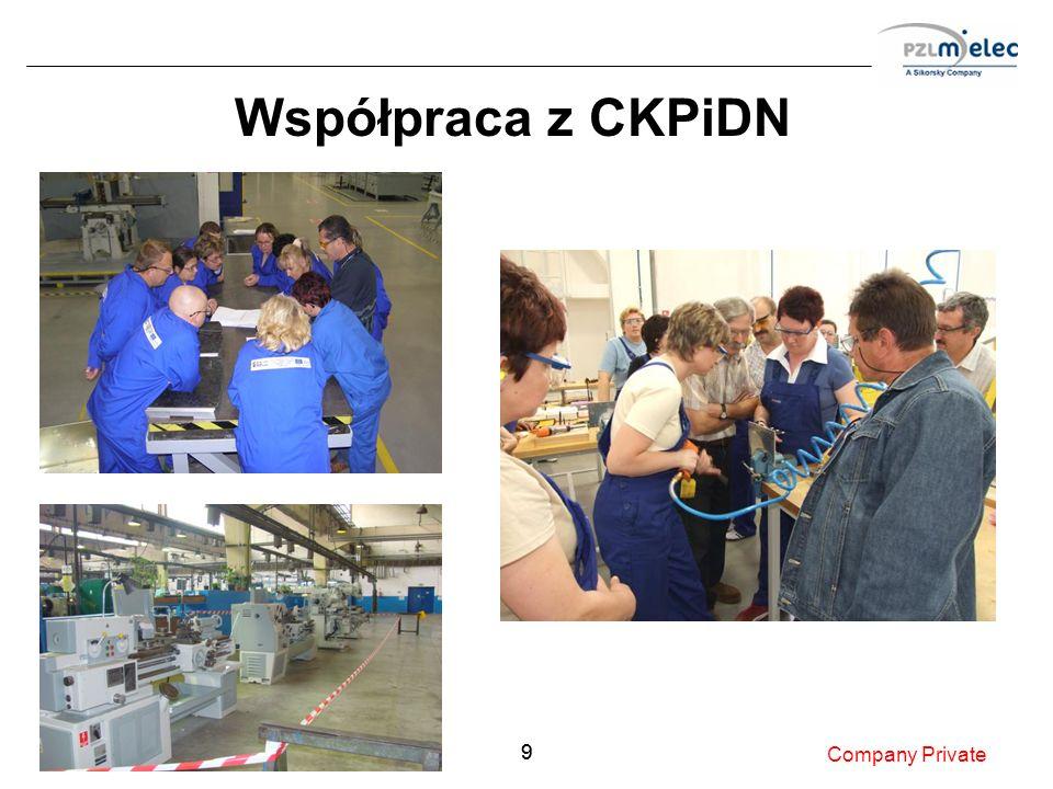 99 Współpraca z CKPiDN Company Private