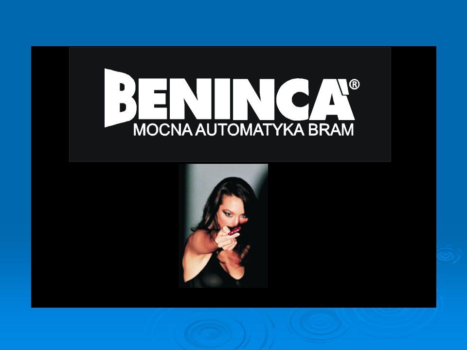Firma BENINCA produkuje automatykę do bram od 26 lat.