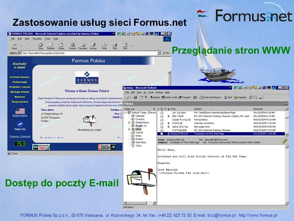 FORMUS Polska Sp.z o.o., 02-078 Warszawa, ul.
